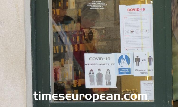 克羅地亞2,242例新的Covid-19病例–自大流行開始以來最糟糕的一天