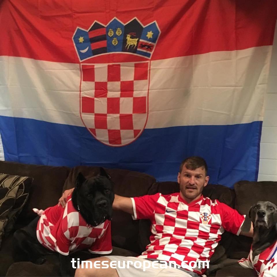 """斯皮特·米奧西奇(Stipe Miocic):""""我很想在克羅地亞努力,我只是愛這個國家,並且是克羅地亞人"""""""