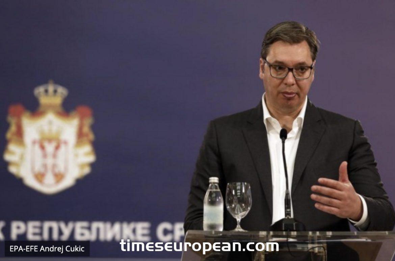 Vučić與COVID醫院的負責人會面,下午1點向公眾講話