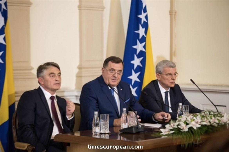 波斯尼亞和黑塞哥維那總統舉行特別會議