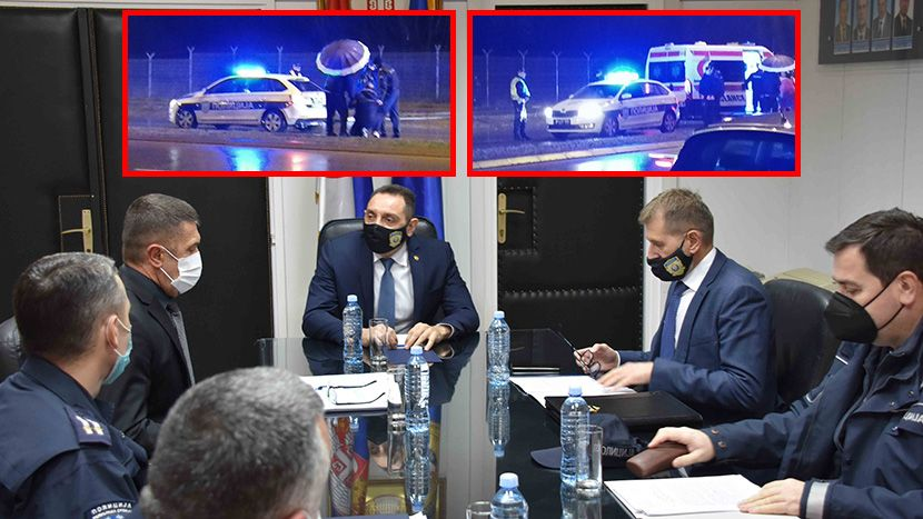 Nis交警局長因兩名行人在人行道上被割傷而被解僱:加強控制