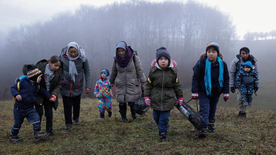 歐盟:波斯尼亞的移民狀況令人擔憂
