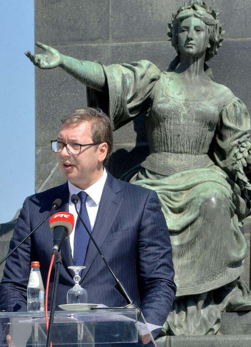 武契奇:妥協的唯一解決方案是科索沃和梅托希亞,人們決定