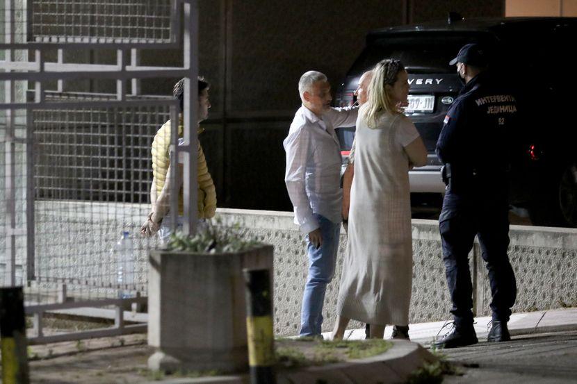 自民黨領導人約万諾維奇在新貝爾格萊德事件後血液酒精含量超過 1.5 permilles